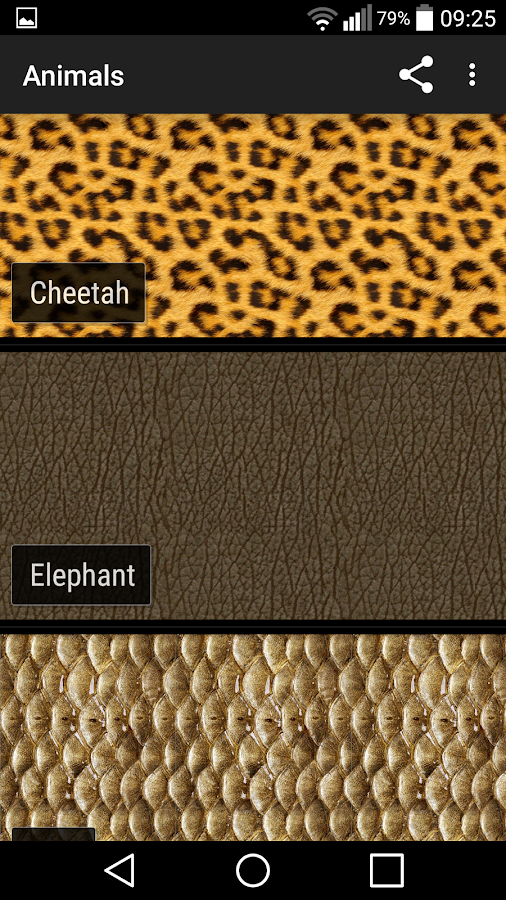Animal Print Wallpapers- screenshot
