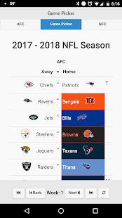 NFL Playoff Predictors- screenshot thumbnail