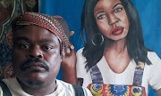 Critics hit back at Rasta's 'offensive' painting of the late actress Thandeka Mdeliswa.
