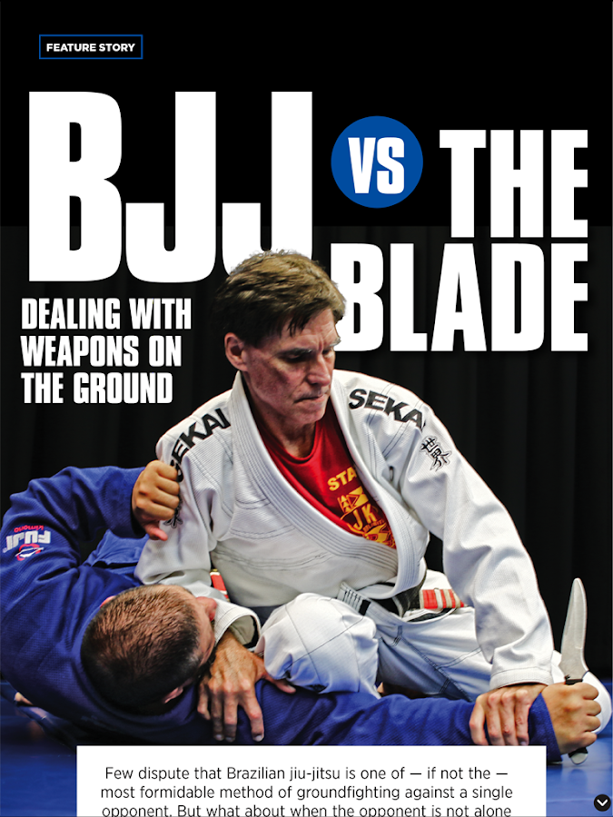 BLITZ Martial Arts Magazine- screenshot