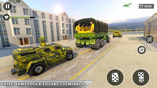 Army Prisoner Transport: Criminal Transport Games apkmind screenshots 8
