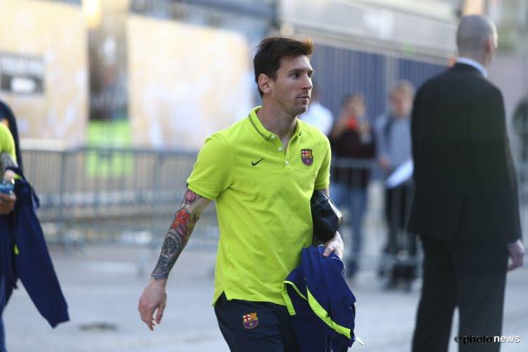 Messi, un but et une chute