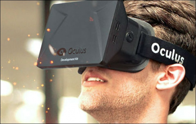 Grote hype, VR-bril Oculus Rift