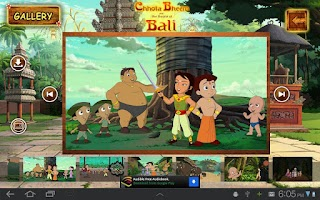 Screenshot of Bali Movie App - Chhota Bheem