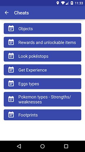 Download Cheats - Pokemon Go for PC