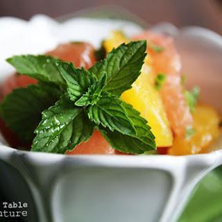 Israeli Fruit Salad.