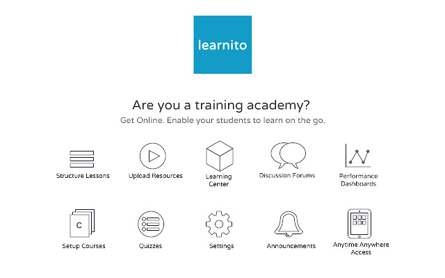 Learnito Virtual Classrooms - Screen Sharing
