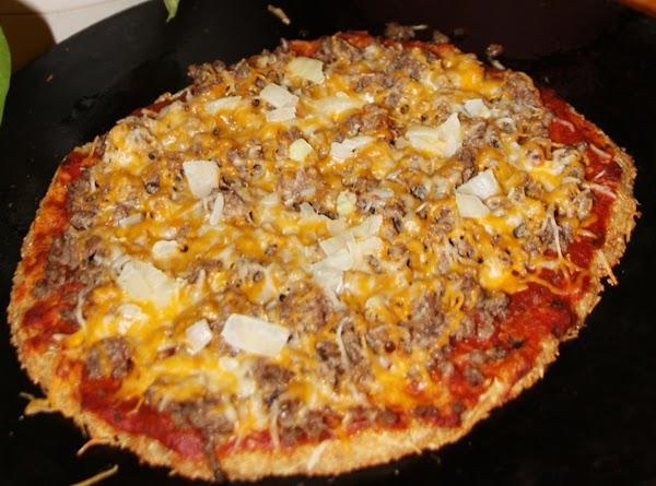 Lo Carb Pizza (gluten Free) Recipe