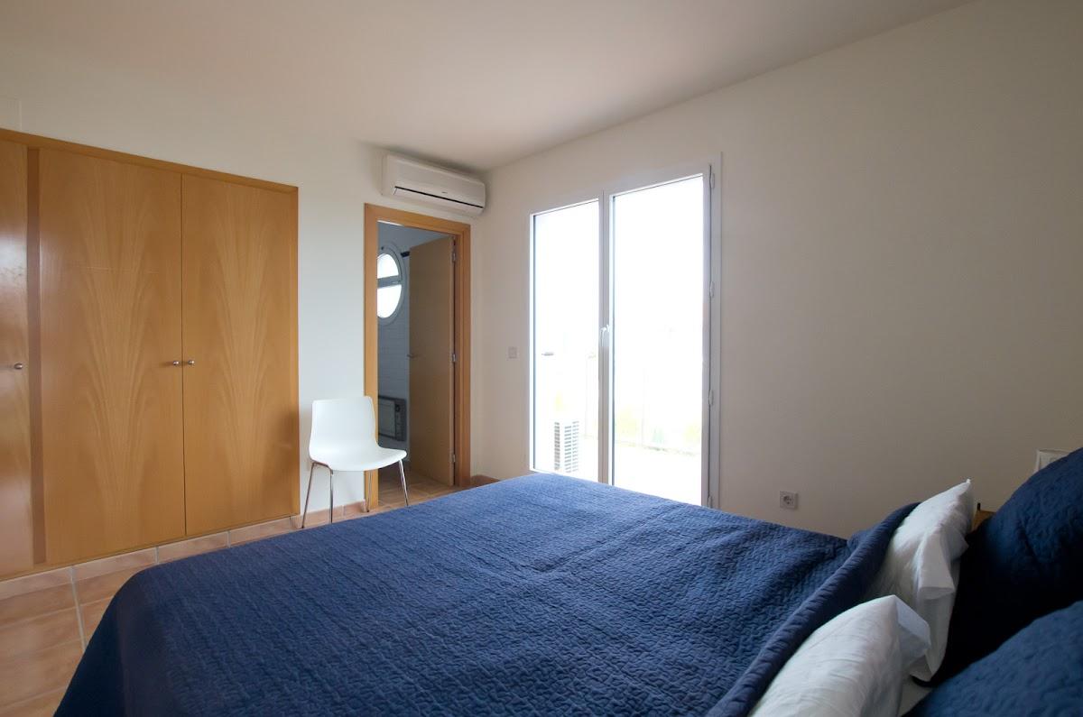 Schlafzimmer Suite mit Meerblick, Balkon und privatem Badezimmer (Doppelbett)