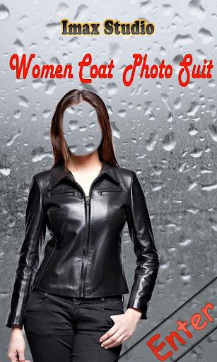 Women Coat Photo Suit