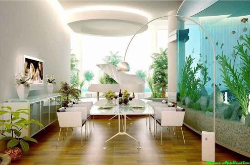 水族館の装飾デザイン