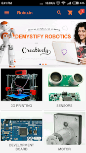 Robu.in RC Hobby Robotic Store- screenshot thumbnail