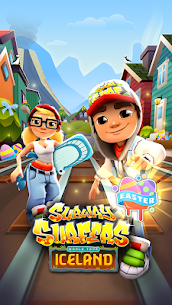Download Subway Surfers Mod With Unlimited Coins/Keys free on android 1