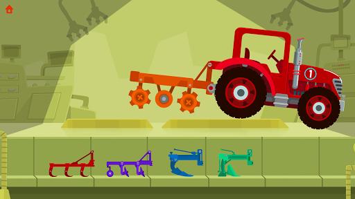 Dinosaur Farm Free - Tractor 1.1.1 screenshots 1