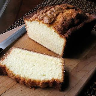 Elvis Presley's Whipping Cream Pound Cake.