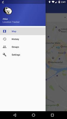Atlas - Location Tracker - screenshot