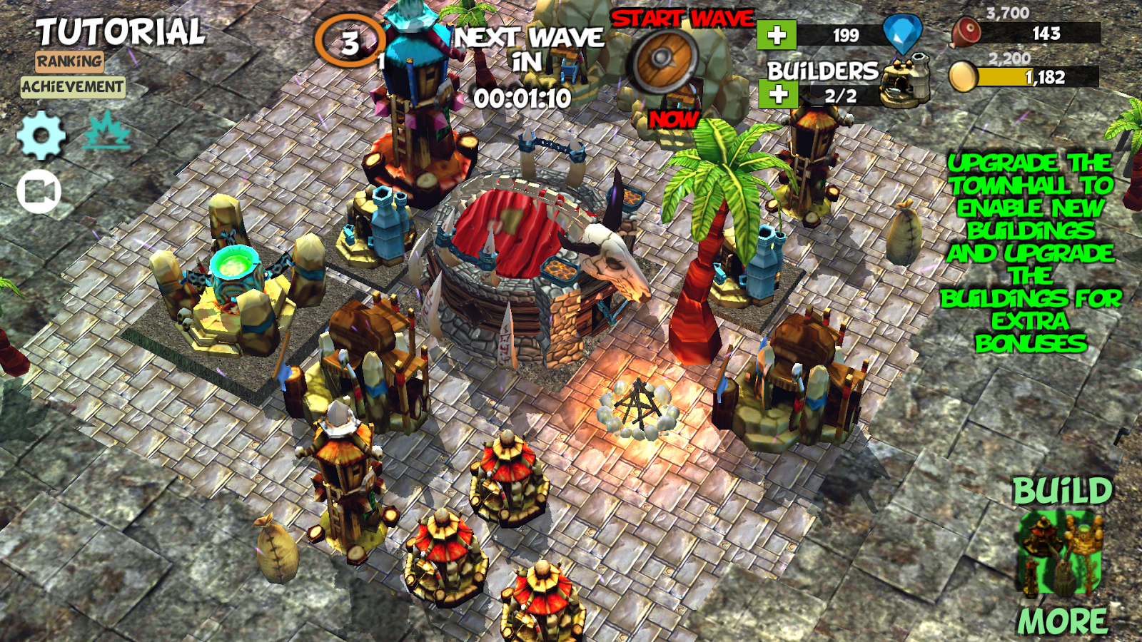 Anti Clash ⛺️ Tower Defense Offline Orc Clans War- screenshot
