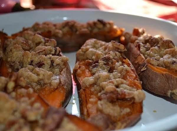 Twiced Baked Sweet Potato Recipe