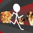 Stickman Rush: Приключение icon