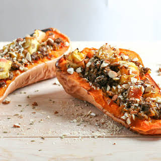 Stuffed Butternut Squash.