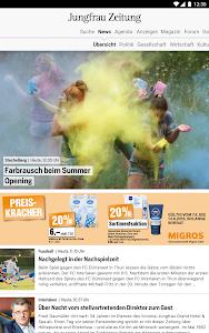 Jungfrau Zeitung screenshot 5