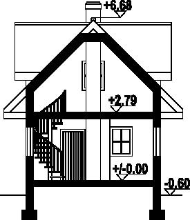 Gajowo 66dws - Przekrój