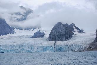 Photo: les glacier se jetant dans la mer... tout simplement, impressionant !
