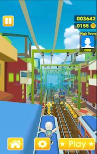 New Subway Surf: Rush Hours 2017- صورة مصغَّرة للقطة شاشة