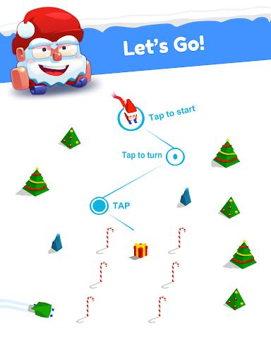 Huuuge Santa Ski screenshot 8