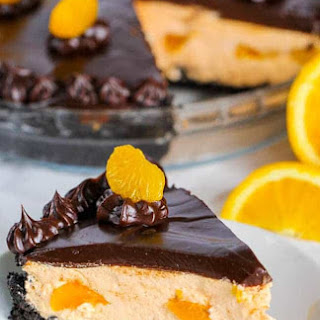 Chocolate Orange Pie.