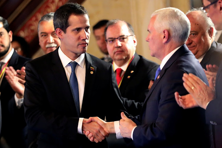Venezuela's Guaido meets with foreign allies for anti-Maduro strategy