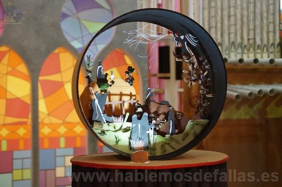 "Falla Na Jordana. Concurso de Belenes 2017 Libre diseño ""A"""