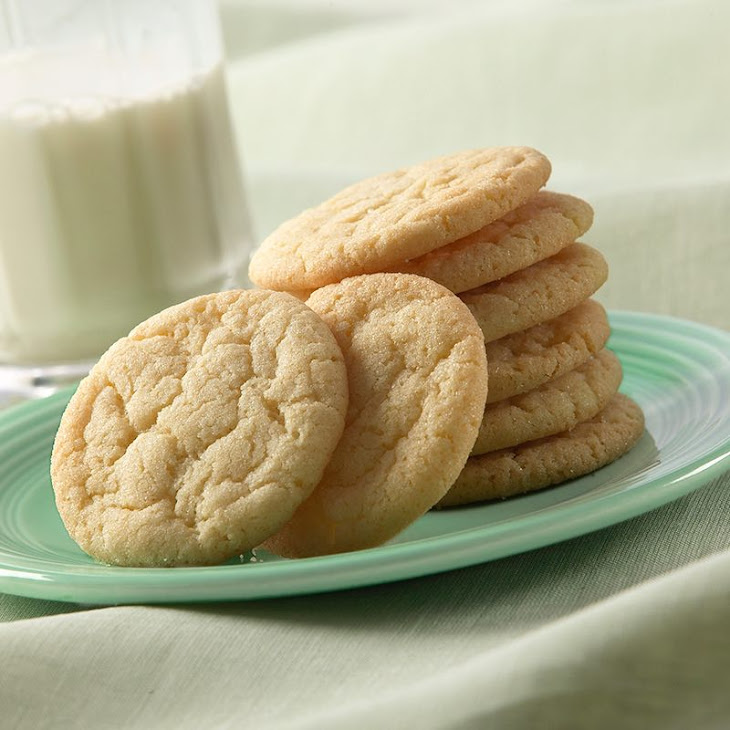 Vanilla Sugar Cookies Recipe