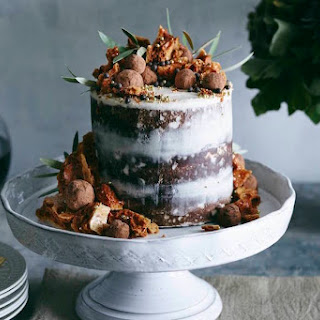 Triple Layer Pumpkin Chocolate Chip Cake