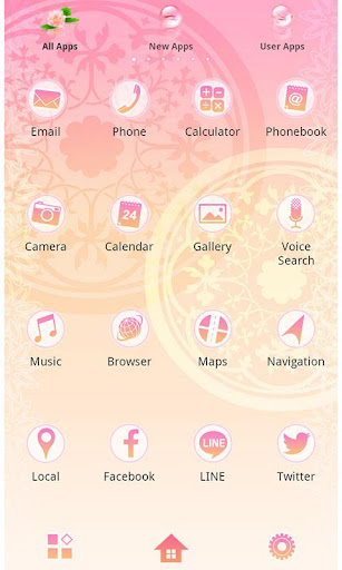 Elegant Theme-Pink Water Lily- 1.0.0 Windows u7528 2