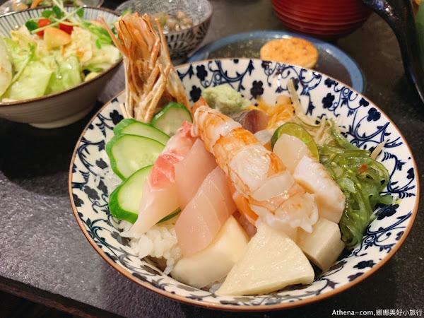 中山站 礫川日本料理 超人氣日式生魚片丼飯專賣店