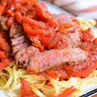 Steak Pizzaiola Linguine