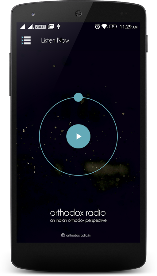 Orthodox Radio- screenshot