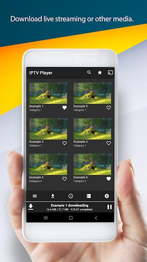 IPTV Player & Cast 2.2 screenshots 4