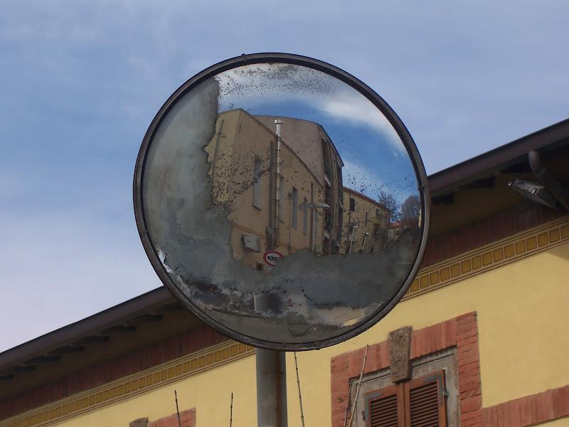 riflesso di un palazzo di Pretoriano