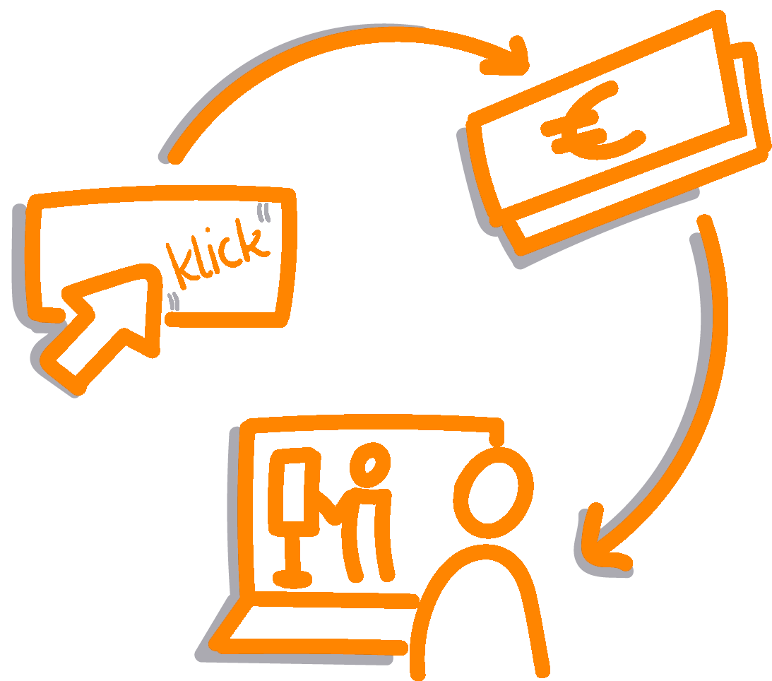 Icon Bezahlvorgang