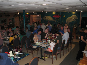 Photo: Welcome dinner at Dixie Crossroads.