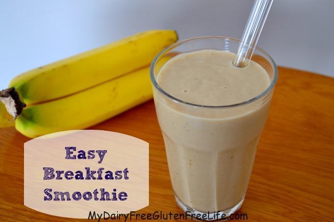 """Easy Breakfast """"Milkshake"""" Smoothie"""