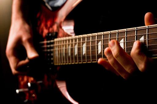 本物のギタープレイ