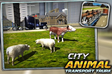 Město přepravu zvířat - náhled