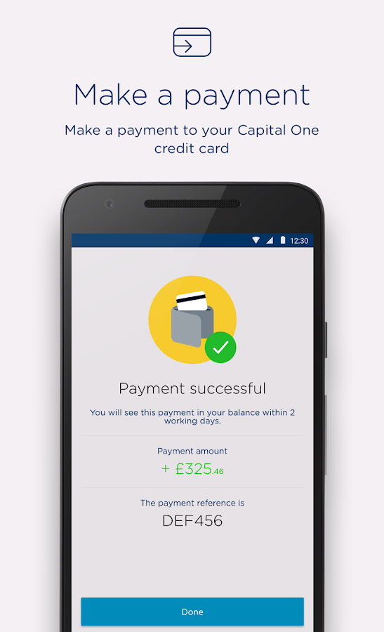 Capital One UK- screenshot