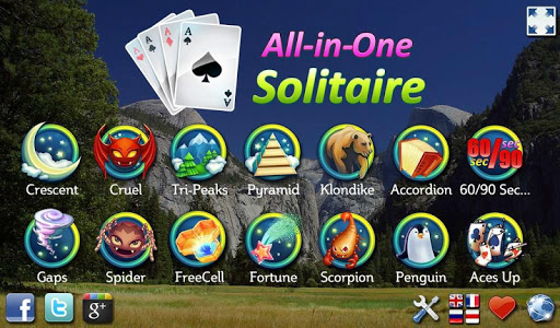 All-in-One Solitaire OLD ss1