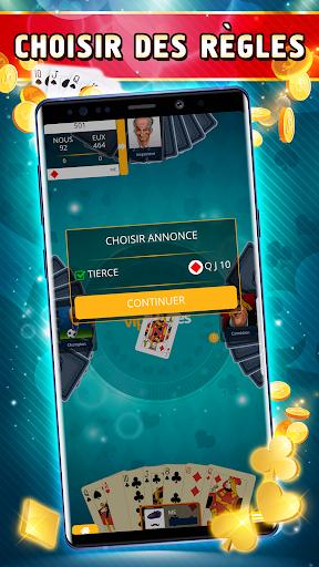 Belote Offline - Single Player Card Game screenshots 3