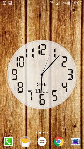 Download Battery Saving Analog Clocks Live Wallpaper Pro APK