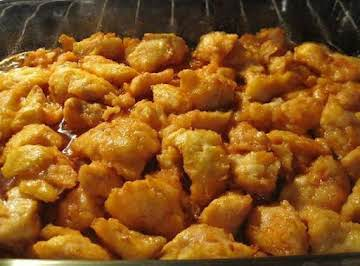 BAKED SWEET N SOUR CHICKEN
